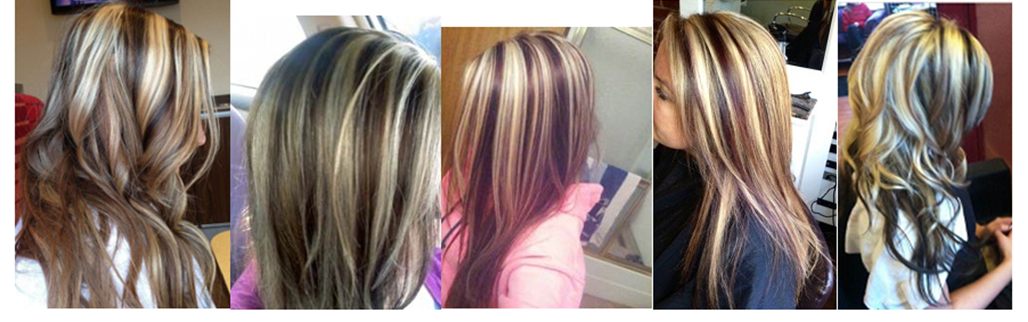 Showing Gallery For Blonde Highlights And Dark Red Lowlights